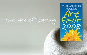 Branding for East Cheshire Hospice - The art of Caring