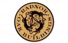 Radnor Oak Buildings brand using 3 hares motif