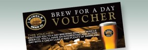 Picture of brew for a day voucher